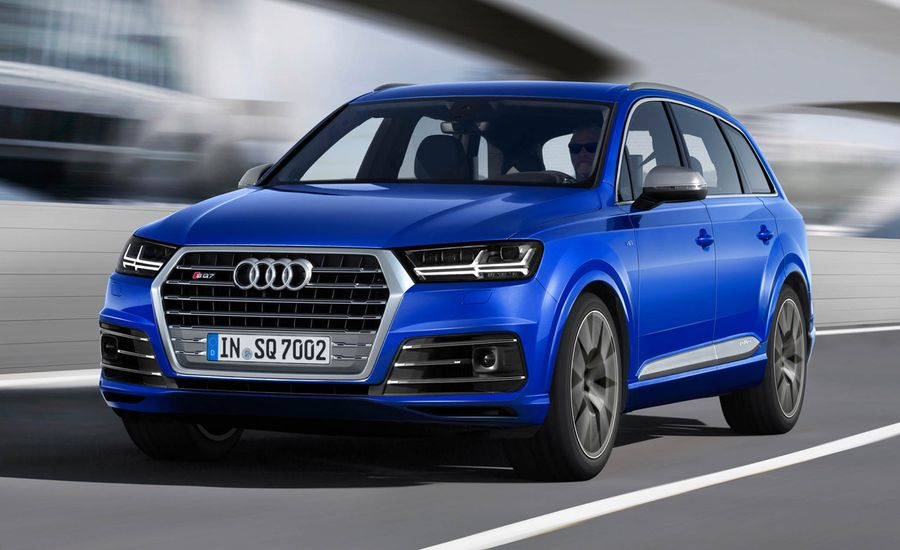 2017 audi sq7 tdi diesel photos and info news car and driver. Black Bedroom Furniture Sets. Home Design Ideas