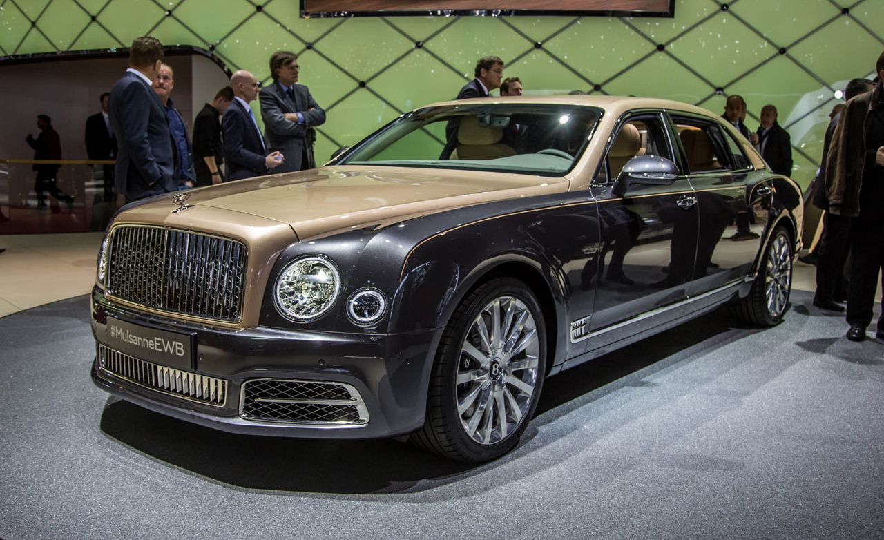 2017 Bentley Mulsanne: Now Even More Mega