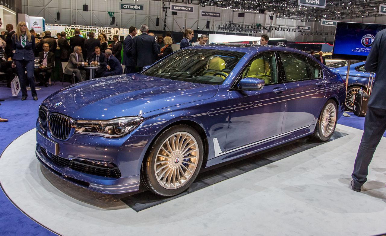 2017 Bmw Alpina B7 Official Photos And Info News Car