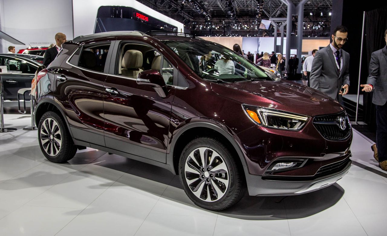 2017 Buick Encore: A Makeover for Buick's Surprise Hit