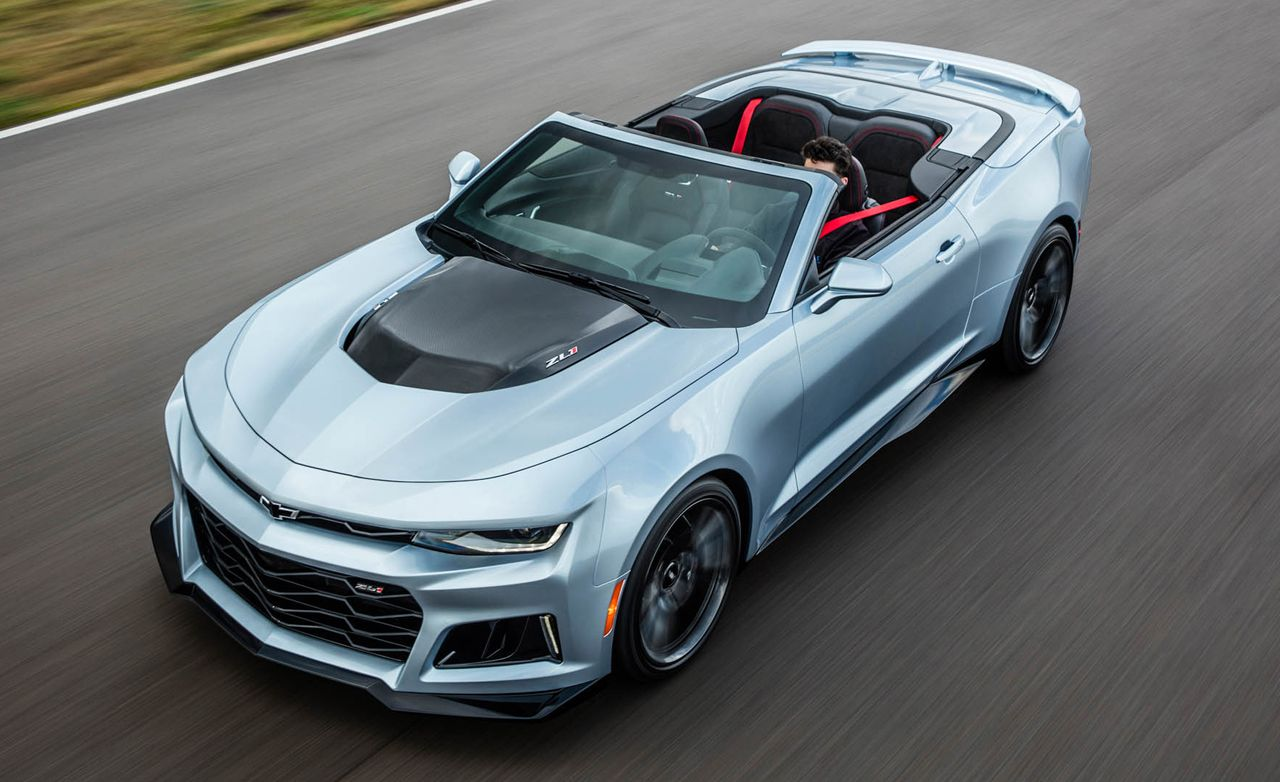2019 Chevrolet Camaro Zl1 Reviews Price Photos And Specs Car Driver