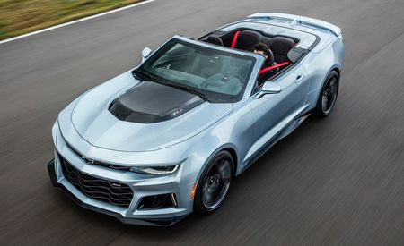 2017 Chevrolet Camaro ZL1 Convertible: The 640-hp Un-Flagship