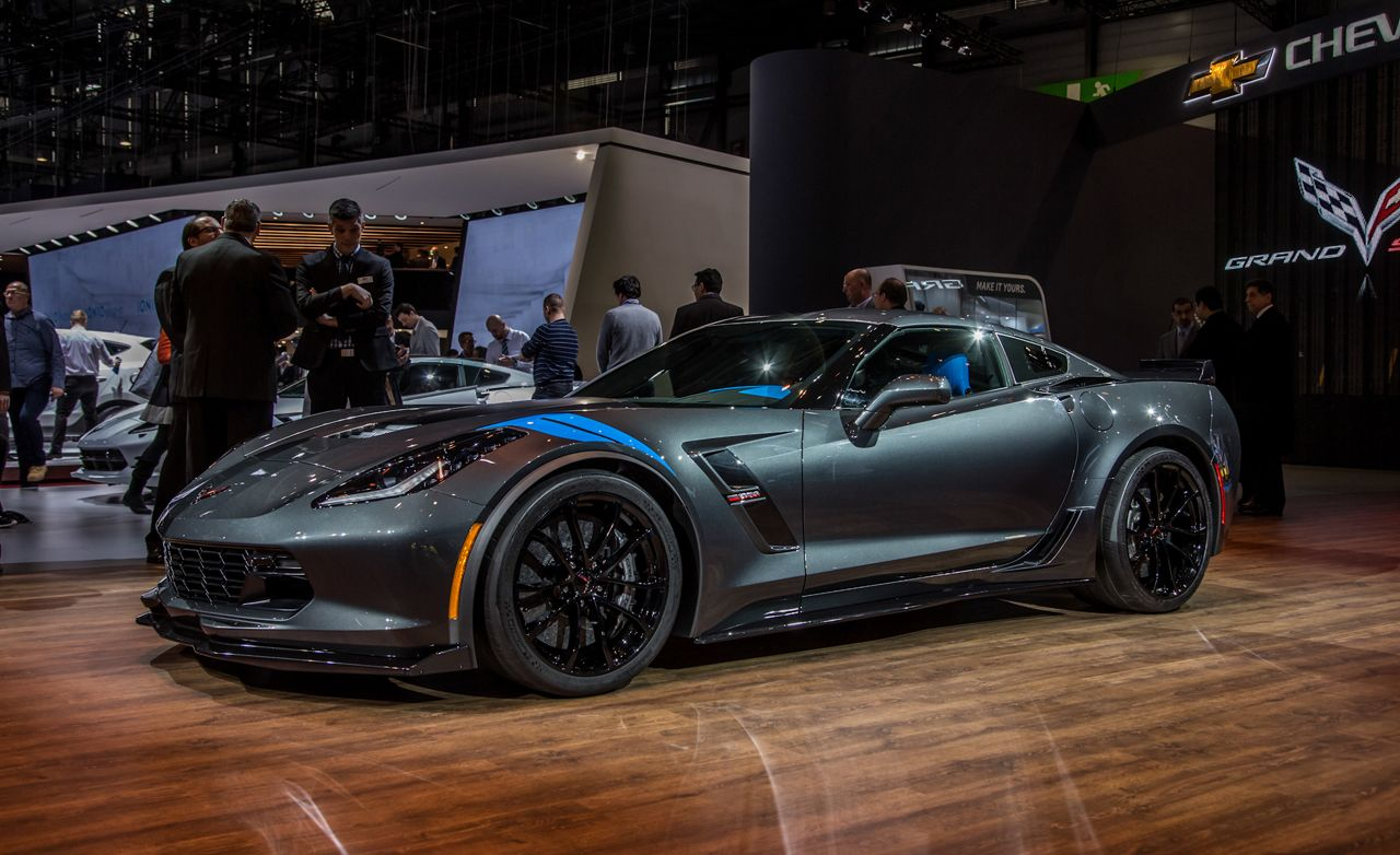 2017 Chevrolet Corvette Grand Sport: Z06 Inspiration, Stingray Motivation