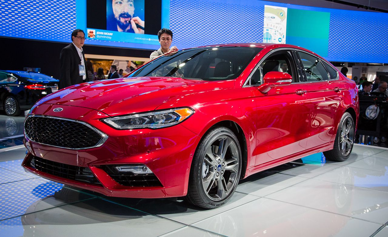 2017 Ford Fusion: Updated and Sport-ified