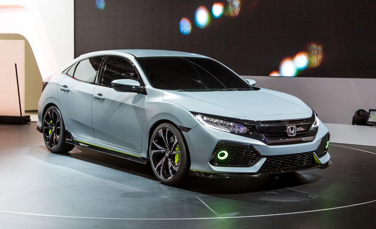 2017 Honda Civic Hatchback Debuts—In Concept Form
