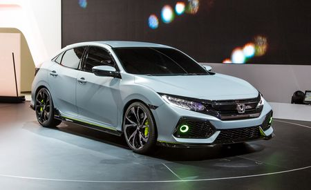 2017 Honda Civic Hatchback Debuts—In Concept Form