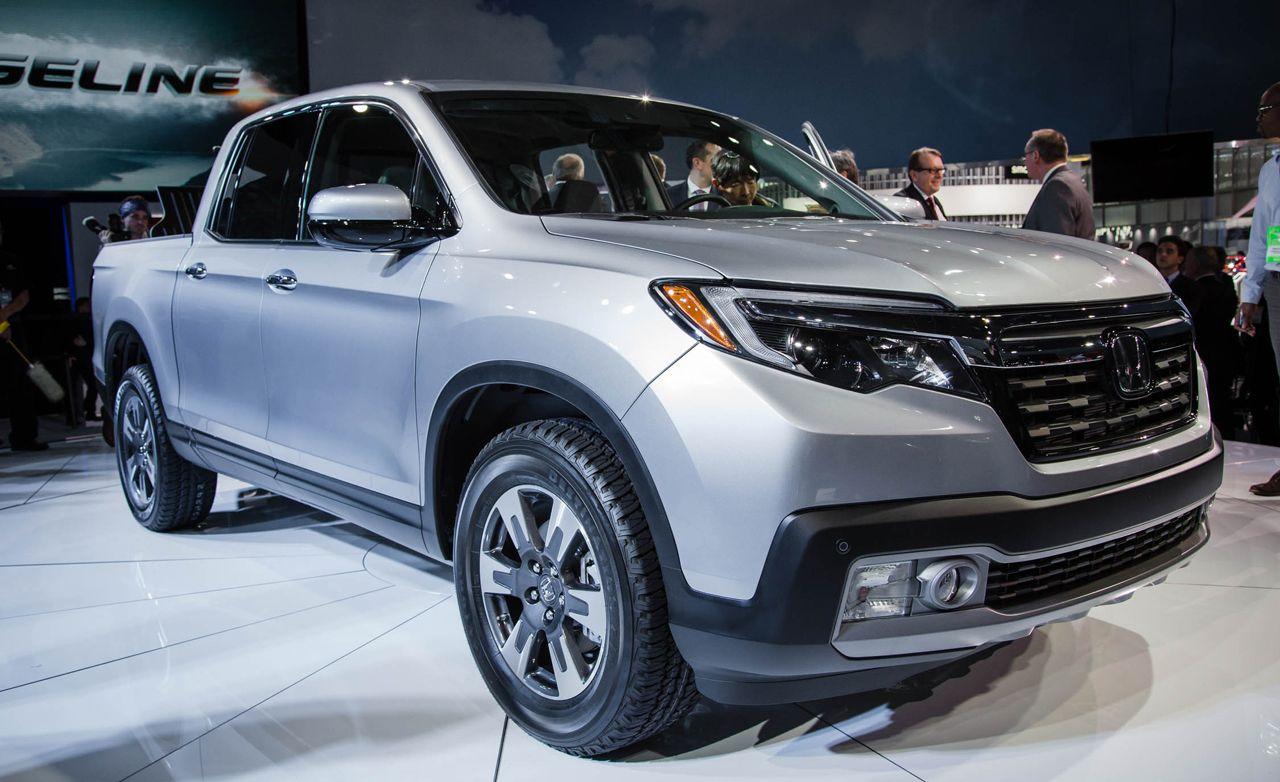 2018 Ford Lightning >> 2017 Honda Ridgeline Photos and Info | News | Car and Driver