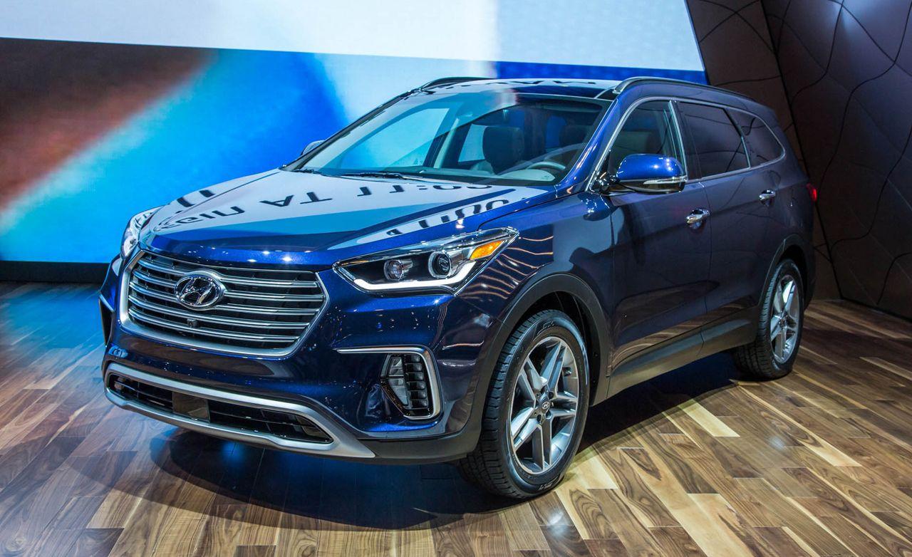 2017 Hyundai Santa Fe: Updated Styling, Tech, and More