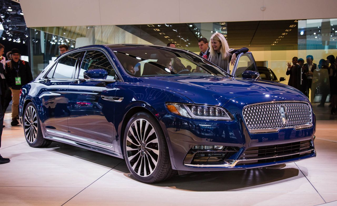 2017 Lincoln Continental Photos and Info | News | Car and ...