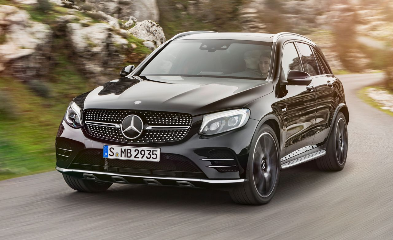 2017 Mercedes-AMG GLC43: Twin Turbos, 362 Horsepower