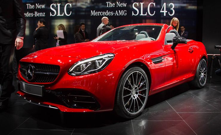 2017 Mercedes-AMG SLC43: Twin Turbos and a New Name