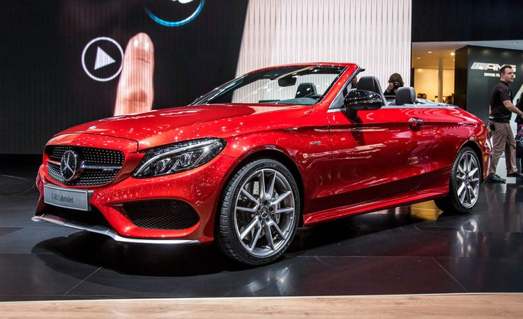 2017 Mercedes-Benz C-class Cabriolet: Available in C300, C43 AMG Potencies
