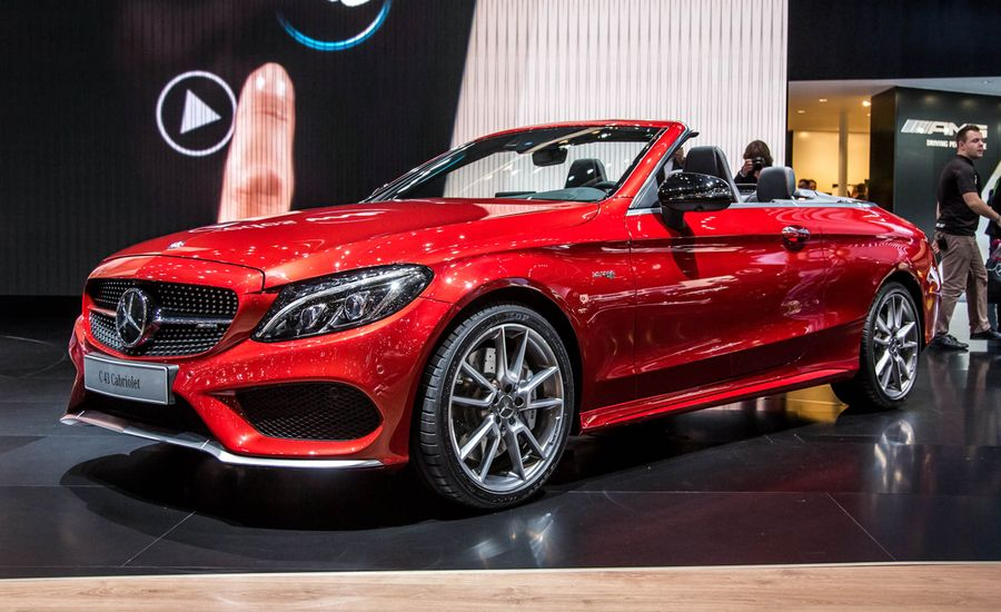 2017 Mercedes Benz C Cl Cabriolet Available In C300 C43 Amg Potencies