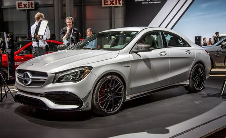 2017 Mercedes-Benz CLA-class: A Fresh Face for the Baby Benz