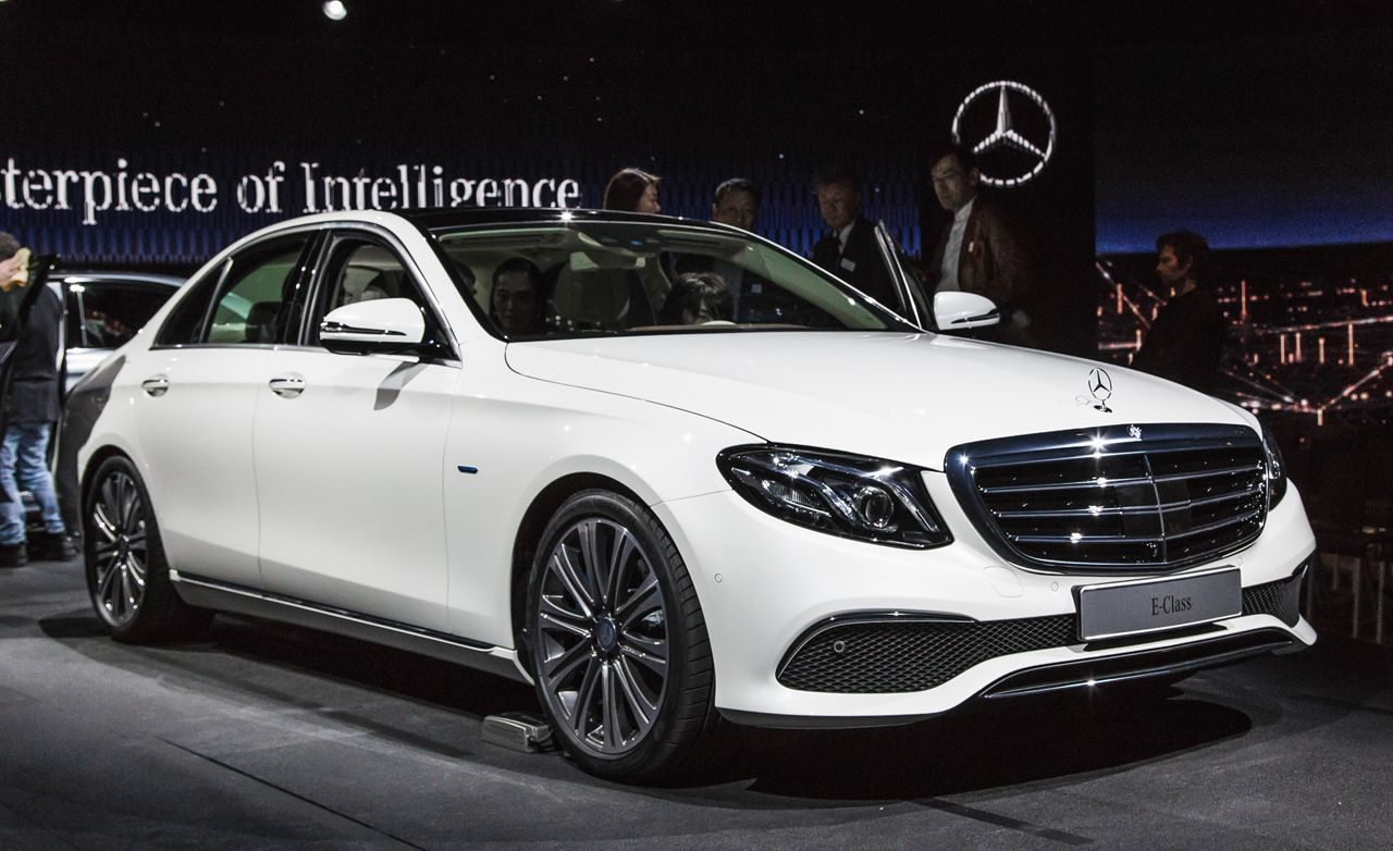 2017 mercedes benz e class photos and info news car for How long does it take to build a mercedes benz