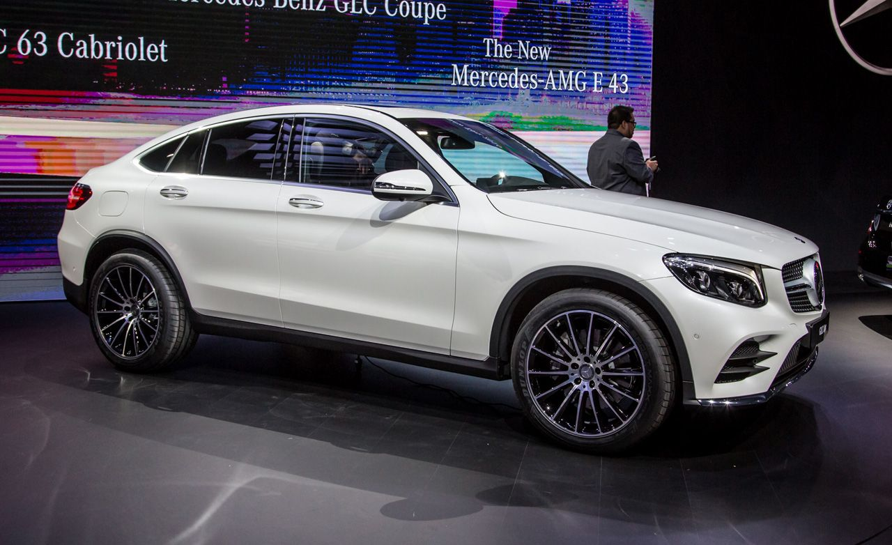 2017 mercedes benz glc class coupe photos and info news. Black Bedroom Furniture Sets. Home Design Ideas