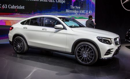 2017 Mercedes-Benz GLC-class Coupe: X4 Marks the Spot