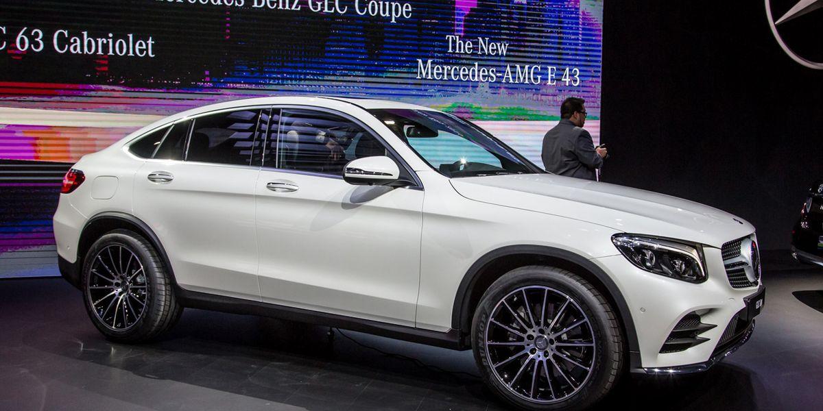 2017 Mercedes Benz Glc Class Coupe Photos And Info News