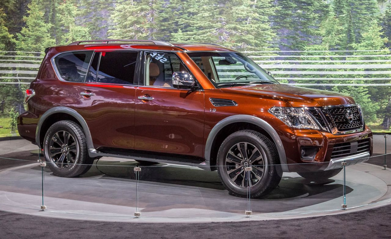 Lifted Subaru For Sale >> 2017 Nissan Armada Photos and Info – News – Car and Driver