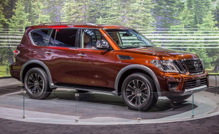 2017 Nissan Armada: Finally, a Redesign!