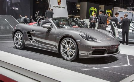 2017 Porsche 718 Boxster / Boxster S: Zuffenhausen Goes For Four