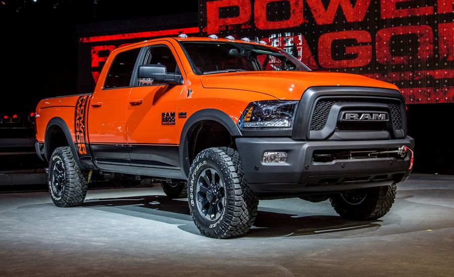 2017 ram power wagon photos and info news car and driver. Black Bedroom Furniture Sets. Home Design Ideas