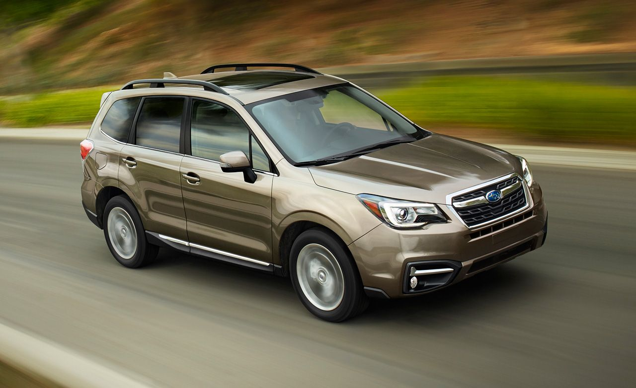 Subaru forester 2017 options