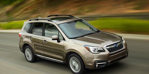 Most Changes To Update The Subaru Forester Crossover For 2017 Model Year Are Par Mid Cycle Refresh Course Including Slightly Revised Front And