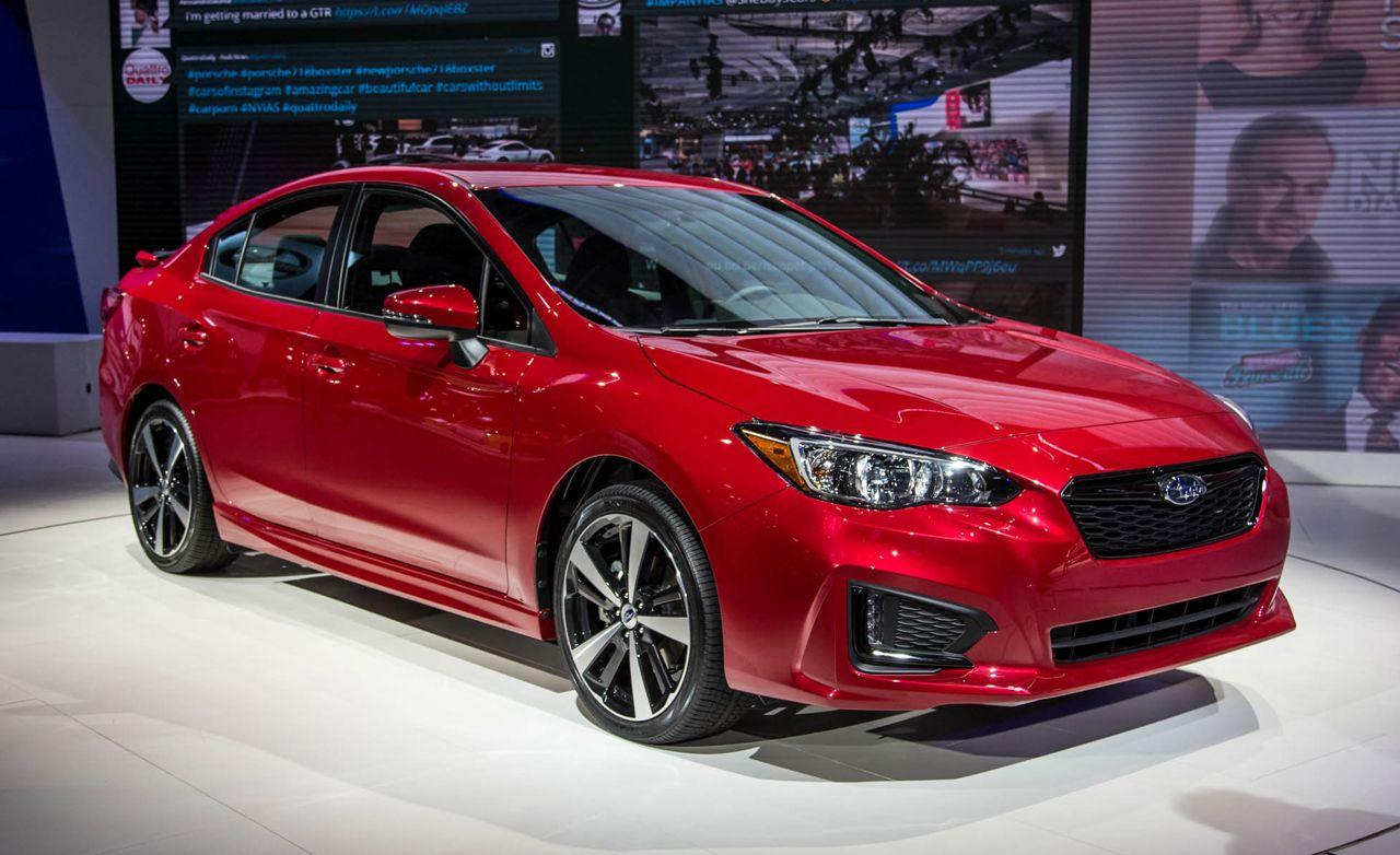 2017 Subaru Impreza Sedan and Hatchback: Small, New, Subaru