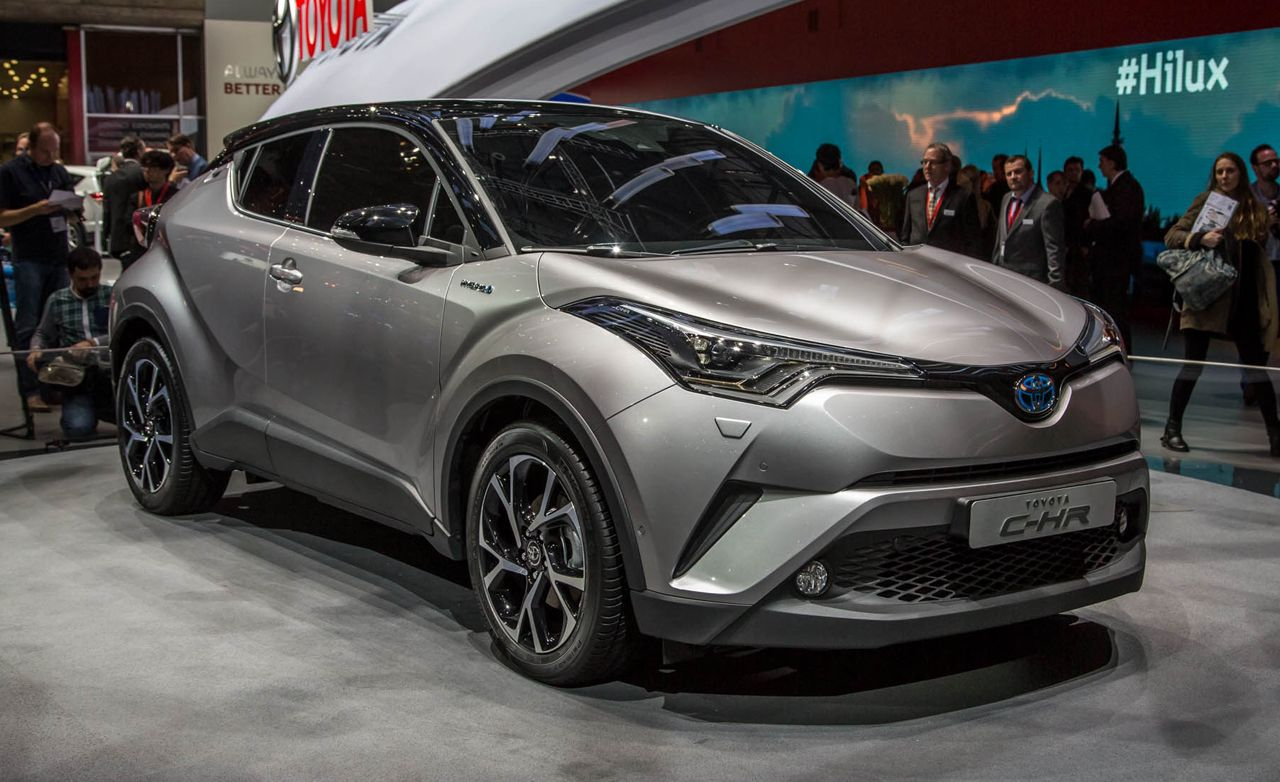 Latest Venza 2016 >> 2017 Toyota C-HR Photos and Info | News | Car and Driver
