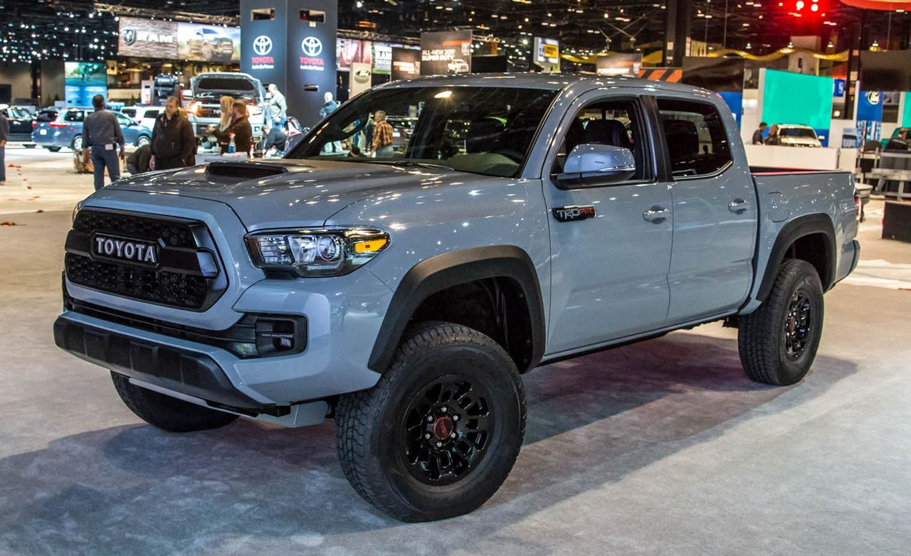 2017 toyota tacoma trd pro photos and info news car. Black Bedroom Furniture Sets. Home Design Ideas