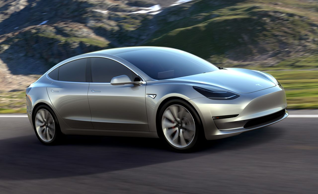 2018 Tesla Model 3 Photos And Info News Car And Driver