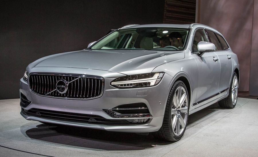 2018 volvo v90 wagon photos and info news car and driver. Black Bedroom Furniture Sets. Home Design Ideas