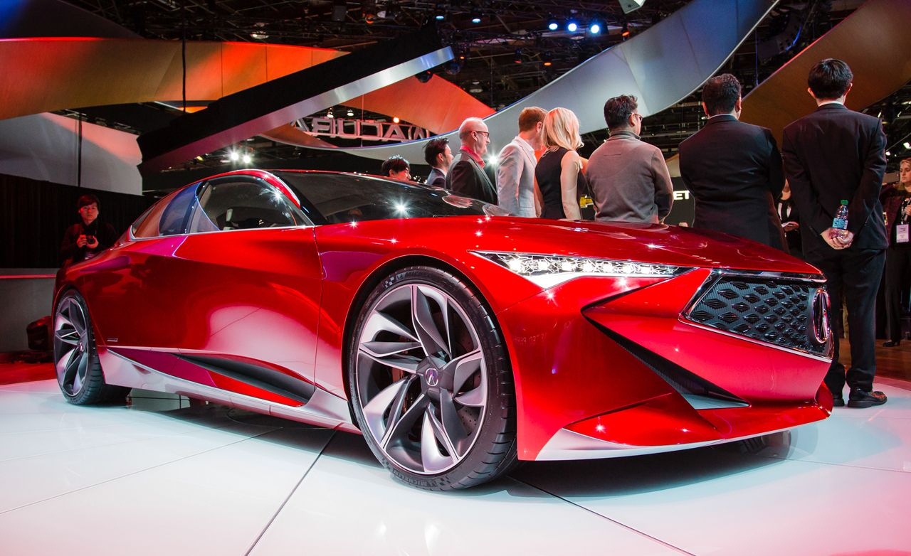 Acura Precision Concept Photos and Info | News | Car and ...
