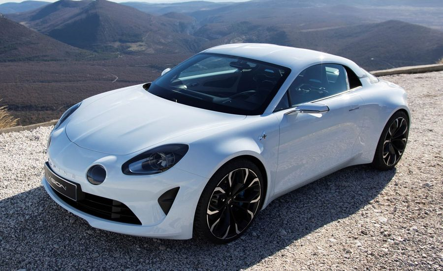 Alpine Vision Concept: Foxy French Alfa 4C Rival Is Go!