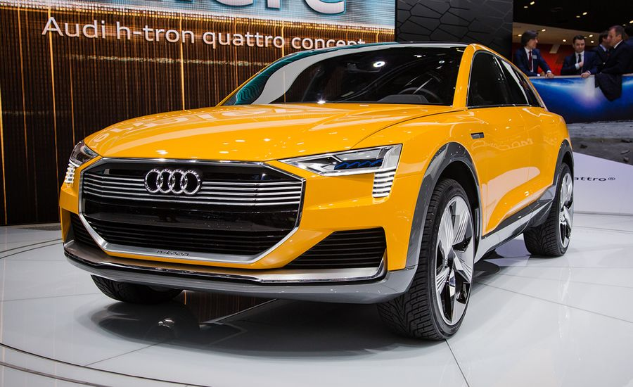 Audi h-tron Quattro Concept, the Hydrogen EV Version of the Q6