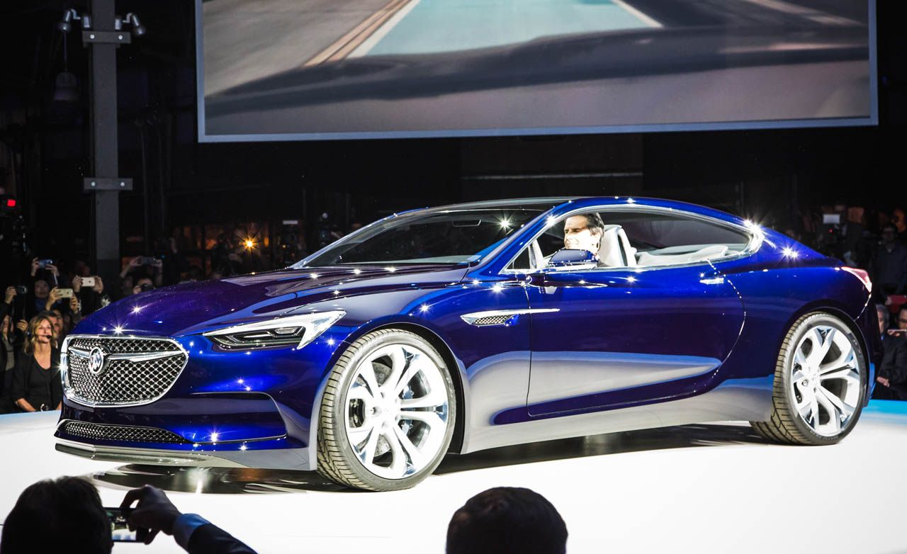 Buick Avista Concept Photos and Info | News | Car and Driver