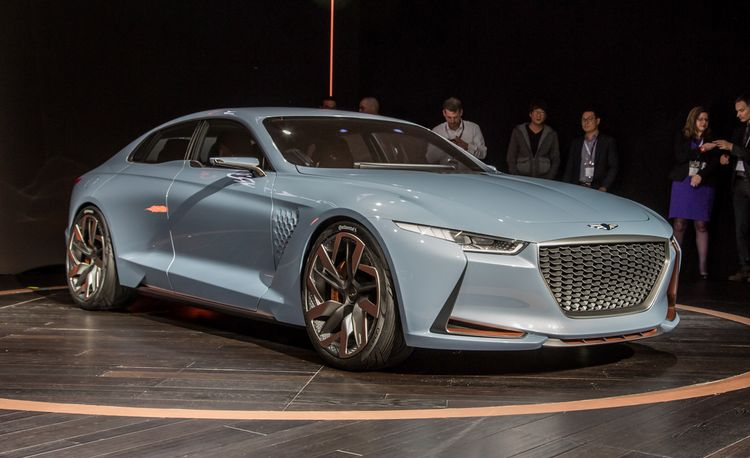 Genesis New York Concept: Subdued-Looking Sports Sedan Previews an Upcoming 3-series Rival