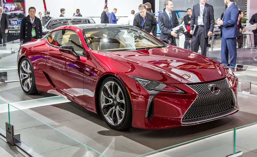 lexus lc500 luxury coupe photos and info news car and driver. Black Bedroom Furniture Sets. Home Design Ideas