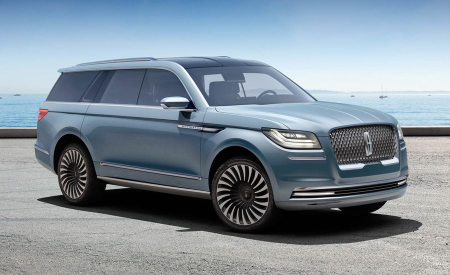 Lincoln Navigator Concept: This Big SUV Is a Big Deal for Lincoln
