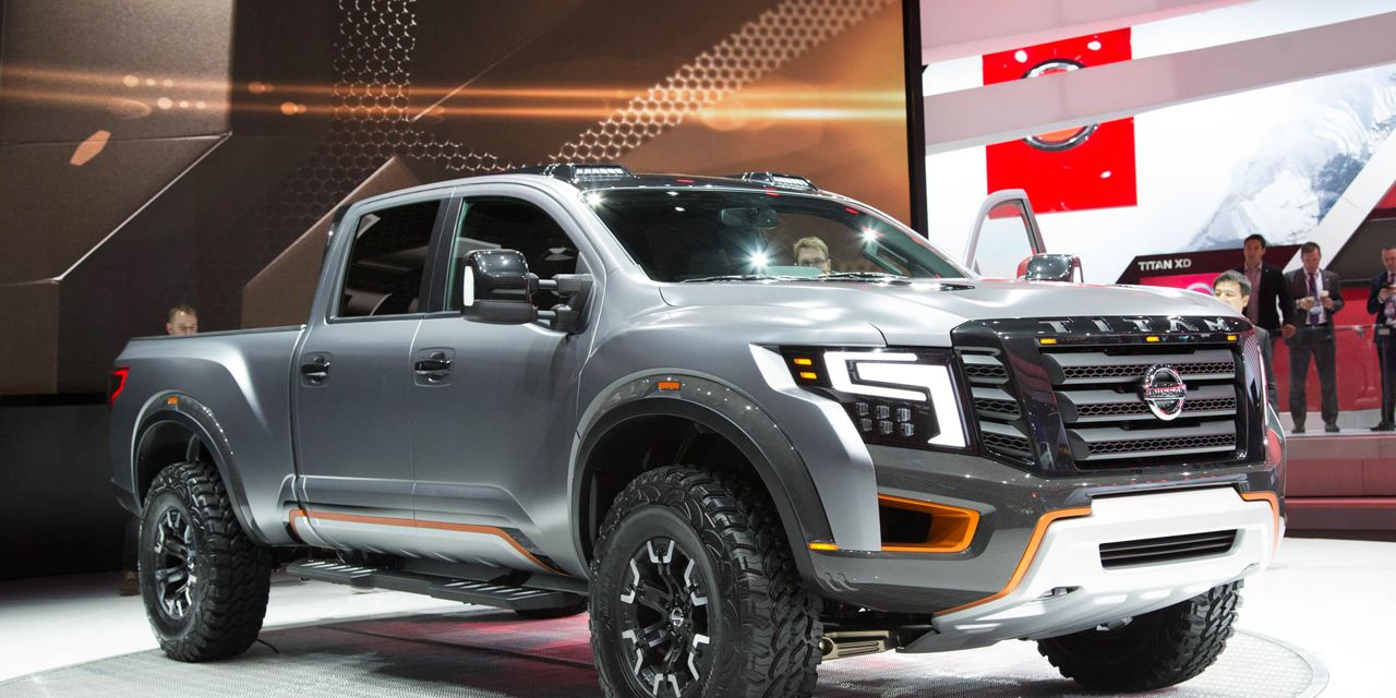 Nissan Titan Warrior Concept: Beefed Up, Diesel-Powered, and Ready for Anything