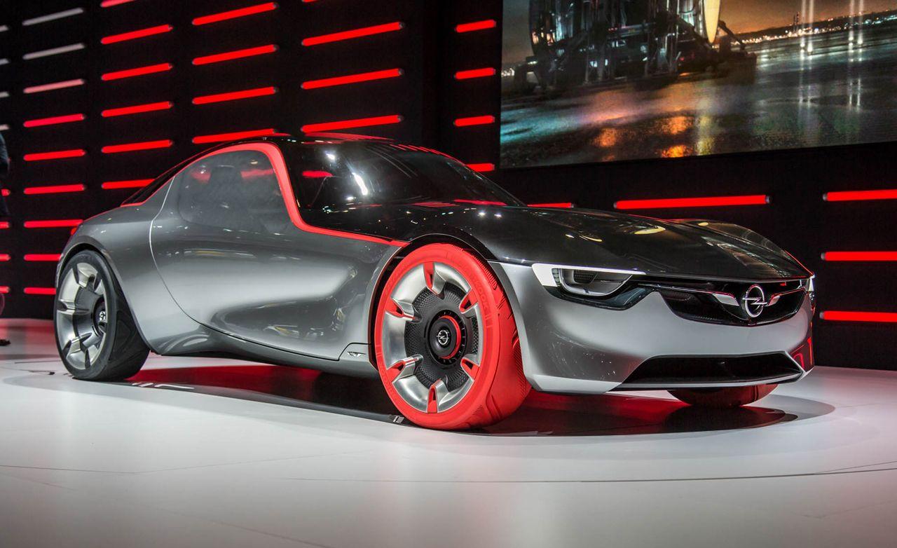 Opel GT Concept: The German Mini-Corvette Returns