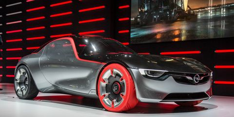 Opel Gt Concept Official Photos And Info 8211 News 8211 Car