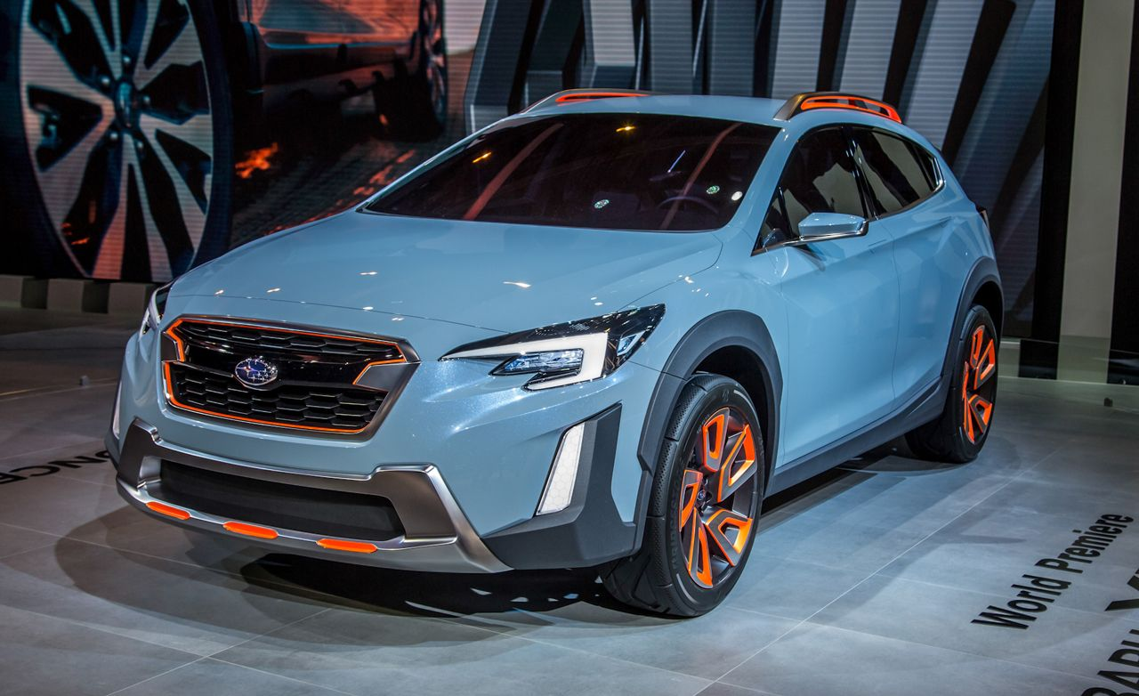 subaru xv concept the next gen xv crosstrek in fancy clothing