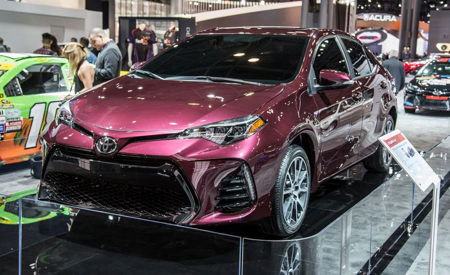 updated 2017 toyota corolla photos and info news car and driver. Black Bedroom Furniture Sets. Home Design Ideas