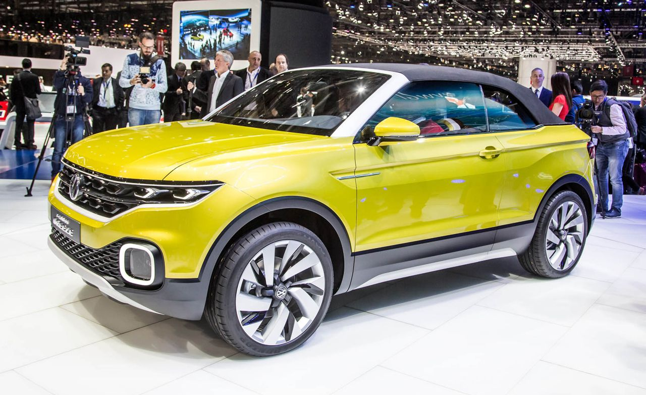 Volkswagen T-Cross Breeze Previews New Small CUV