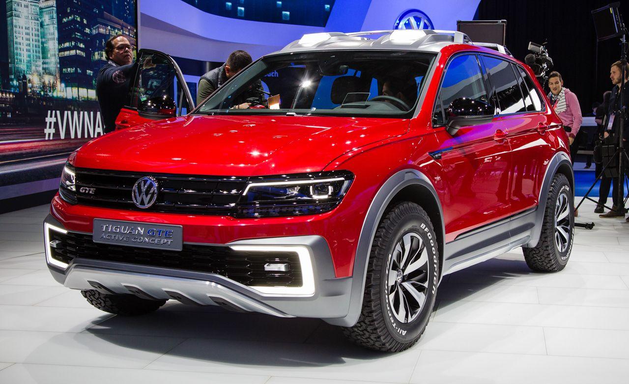 Volkswagen tiguan gte active concept photos and info news car and driver