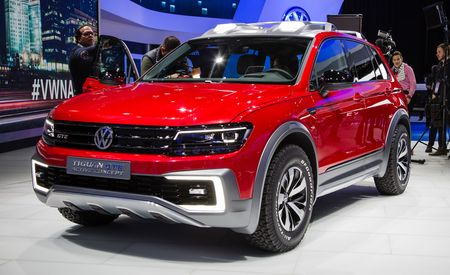 Gettin' Tiggy With Electricity: VW's Tiguan GTE Active Concept