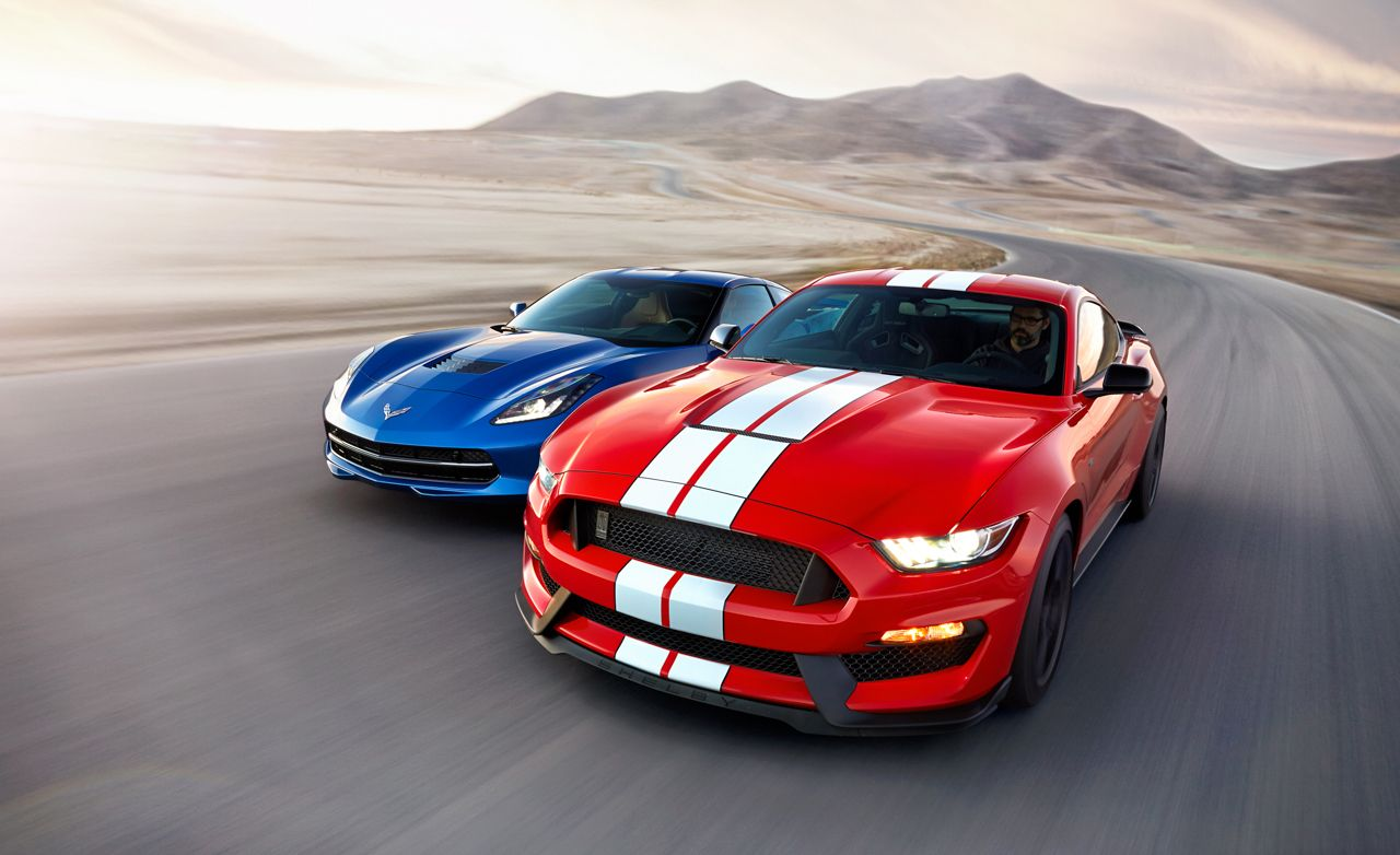 2016 ford mustang shelby gt350 gt350r test review car and driver