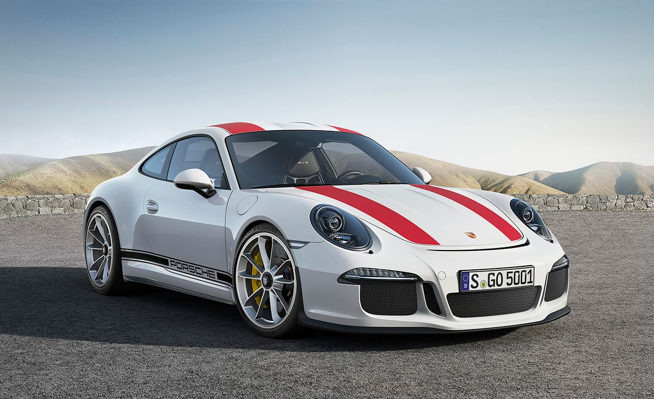 2016 porsche 911 r 25 cars worth waiting for feature car and driver